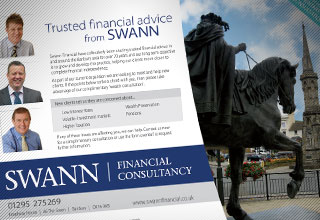 Swann Financial Flyer Design