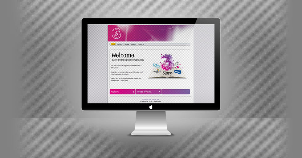 3 Mobile Website Design