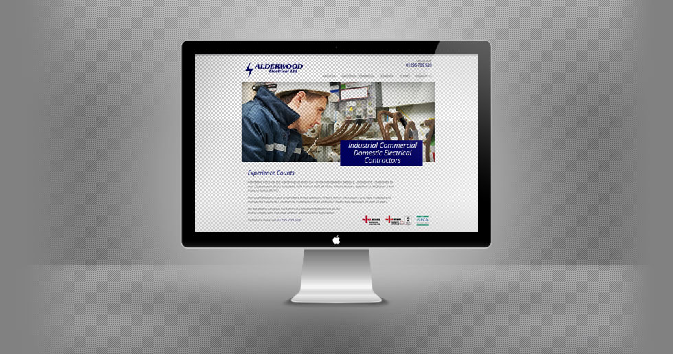 Alderwood Electrical Website Design