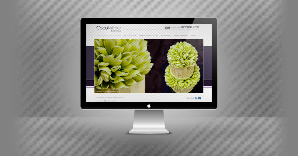 CocoMiloko Website Design