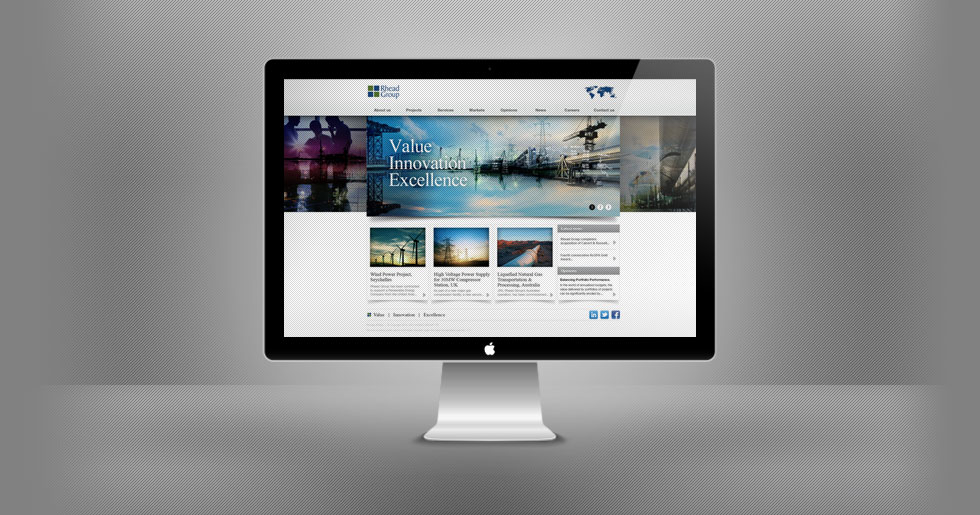 Rhead Group Website Design