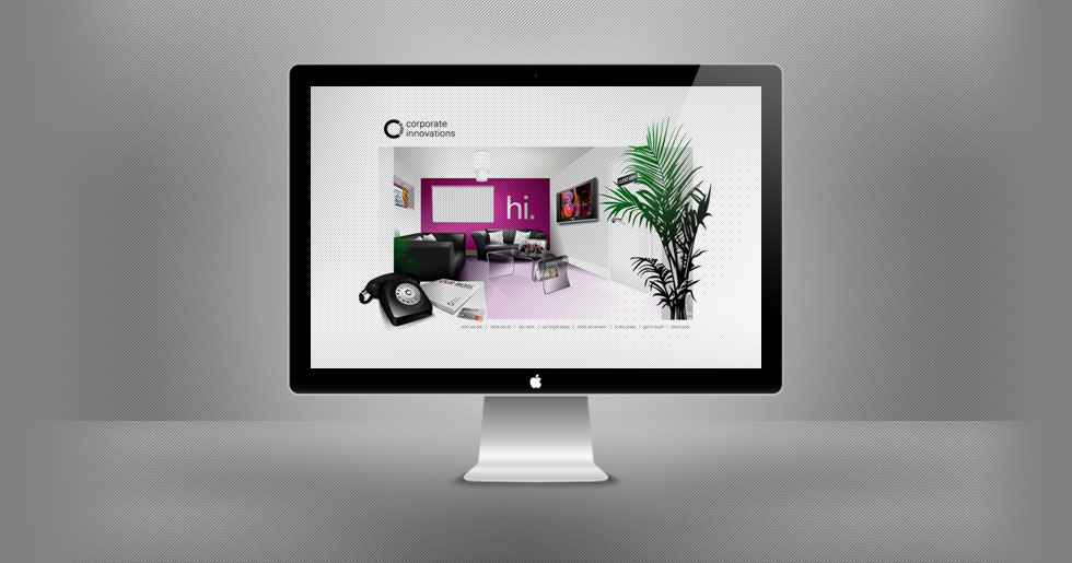 Corporate Innovations Website Design