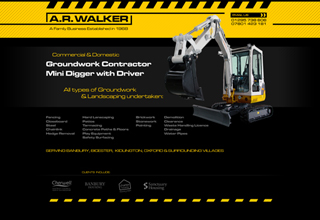 AR Walker Website Design