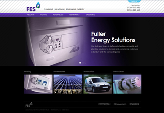 Fuller Energy Solutions Website Design