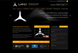 LAN 3 Website Design