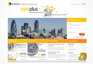Symantec Website Build